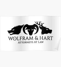 Wolfram & Hart Poster