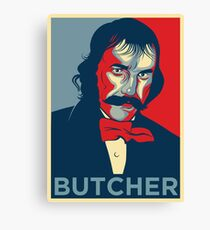 "Bill the Butcher ""Hope"" Poster Canvas Print"