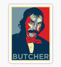 "Bill the Butcher ""Hope"" Poster Sticker"