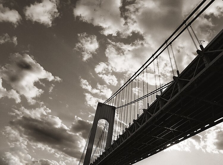 Bridge and Clouds by michaelchiara