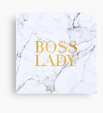 boos lady Canvas Print