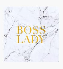 boos lady Photographic Print