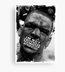 Nate Diaz Canvas Print