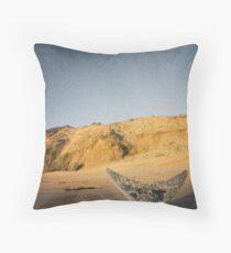 Fishtail Mountain Throw Pillow