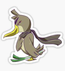 Leek Duck Sticker