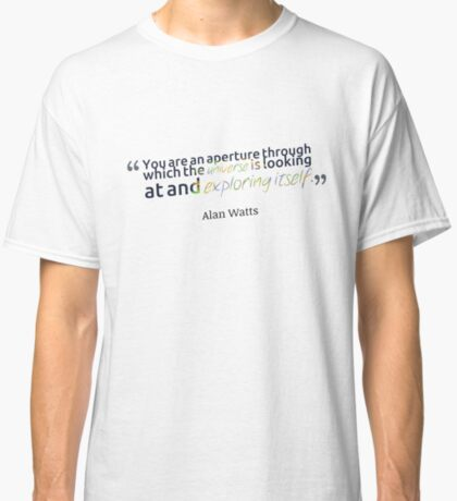Alan Watts Quote #9 Classic T-Shirt