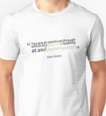 Alan Watts Quote #9 T-Shirt