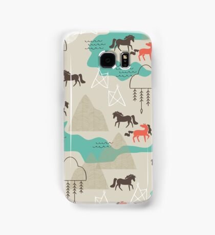 Wild Horses Samsung Galaxy Case/Skin