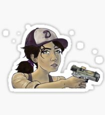 Clementine - TWD A New Frontier Sticker