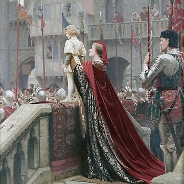 Edmund Blair Leighton - A Little Prince Likely In Time To Bless A Royal Throne by artcenter