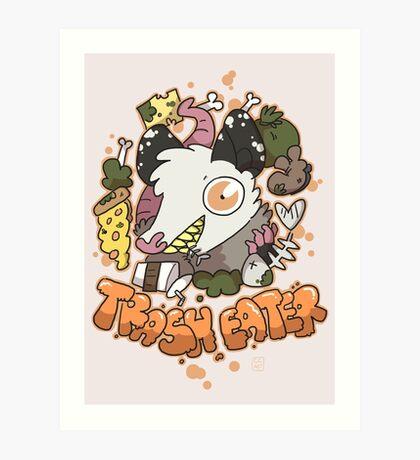 Trash Eater Art Print