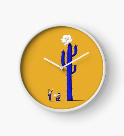 Cactus Clock