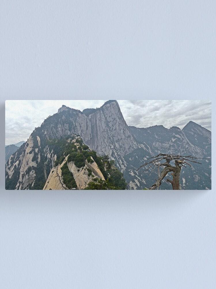 Alternate view of Mt Hua panorama Canvas Print