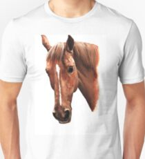 Paintings horse watercolor, isolated, beautiful T-Shirt