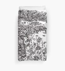 Leaf Warrior  Duvet Cover