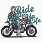 Ride fur ya life: Wolfman by C.J. Jackson