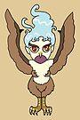 Flying Harpy Girl CHIBI MONSTER GIRLS Series I by angelasasser