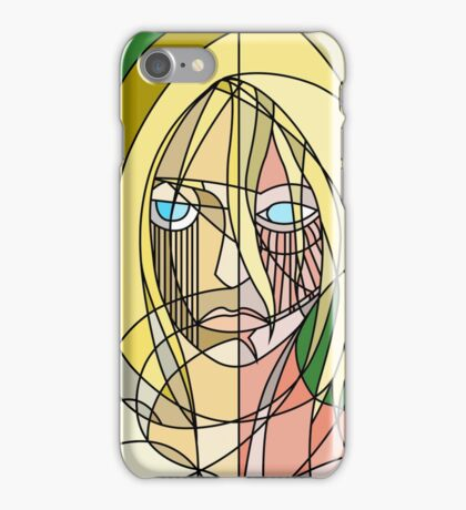 Abstract Annie iPhone Case/Skin