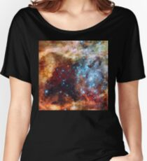 Doradus Nebula, Hubble Space Telescope Image Women's Relaxed Fit T-Shirt