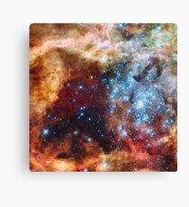 Doradus Nebula, Hubble Space Telescope Image Canvas Print
