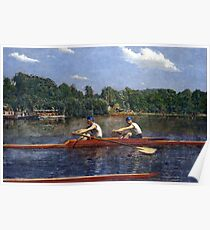 Thomas Eakins The Biglin Brothers Racing Poster