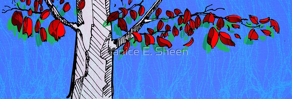 Graphic gum by Janice E. Sheen