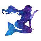 Galaxy Mermaid by Jessica Caldwell