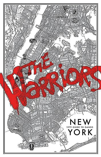 Warriors Nyc Gang Map Posters By Talesoftheeast Redbubble