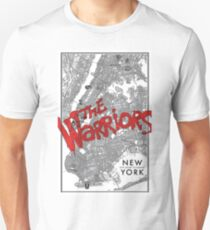 Warriors NYC Gang Map Unisex T-Shirt