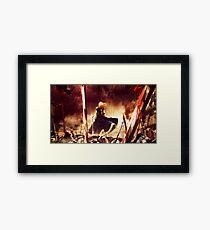 saber Framed Print