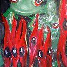 Frog Eyes by Julie Stewart Rose