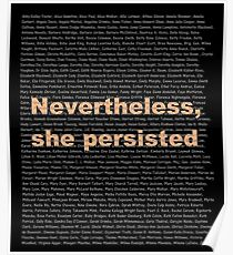 Persist in their honor Poster