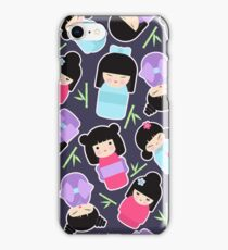 Kokeshi dolls iPhone Case/Skin