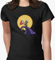 Nightmare Before Christmas  Women's Fitted T-Shirt