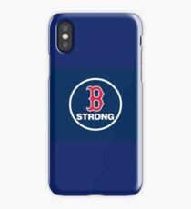 Boston Strong Red Sox iPhone Case