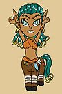 Warrior Centaur Girl CHIBI MONSTER GIRLS Series I by angelasasser