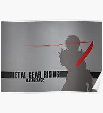 Metal Gear Rising - Revengeance - Raiden Poster