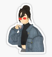Selena Gomez Drawing Sticker