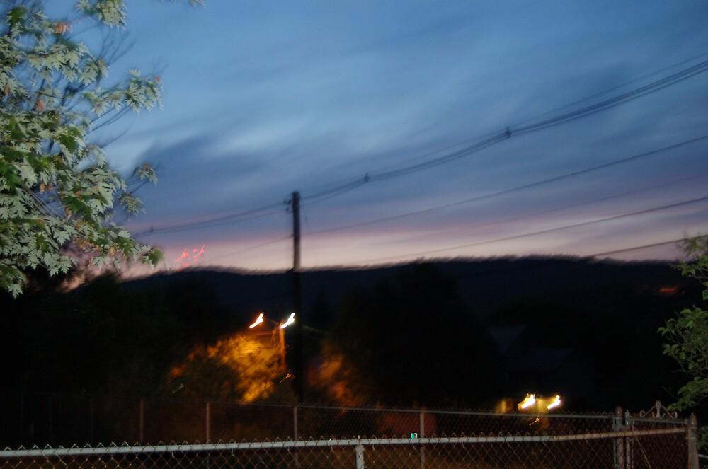 sun rise over white river junction by Doc1945