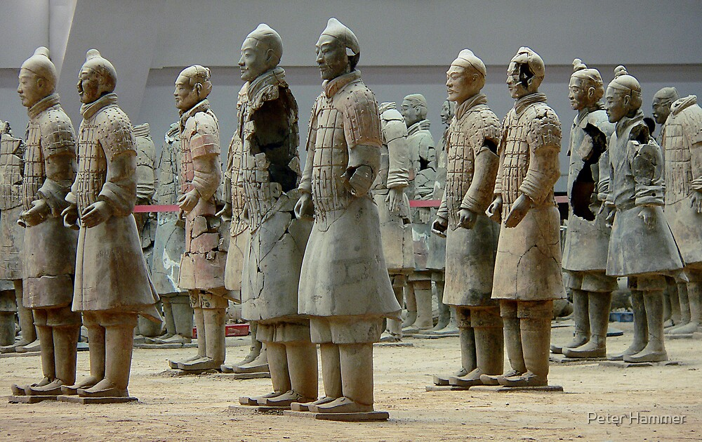Broken army by Peter Hammer