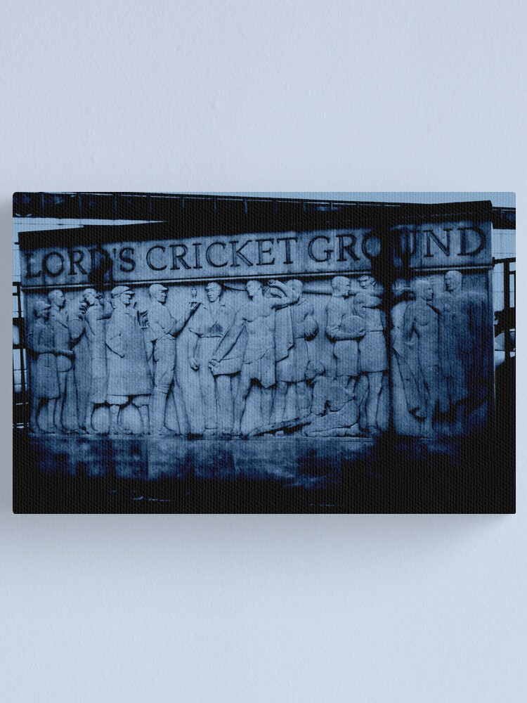 Alternate view of Lord's Cricket Ground, England Canvas Print