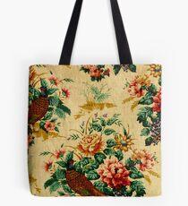elegant,rustic,vintage,wall paper,floral,flowers,victorian,edwardian Tote Bag
