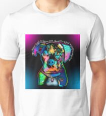 Boxer Dog Pop Art Style for Dog Lovers                                             Unisex T-Shirt