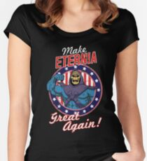 MAKE ETERNIA GREAT AGAIN Women's Fitted Scoop T-Shirt