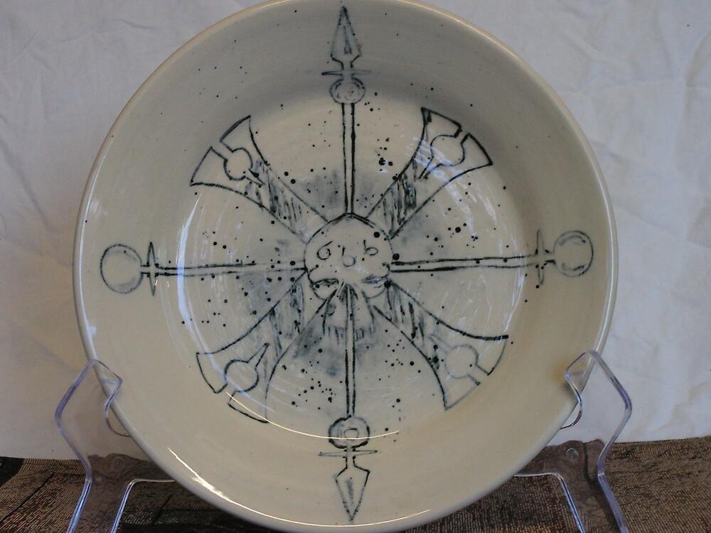eathenware plate by fatman