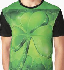St Paddy's Day Super Shamrock Shirt Graphic T-Shirt