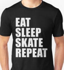 Eat Sleep Skate Repeat Sport Shirt Funny Cute Gift For Skater Skating Board T-Shirt