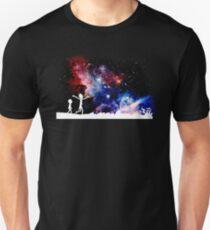 rick's galaxy funny cartoon crazy cosmos space galaxy new show stars  T-Shirt