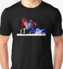 rick's galaxy funny cartoon crazy cosmos space galaxy new show stars  T-Shirt