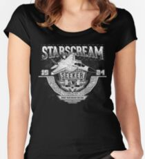Starscream Women's Fitted Scoop T-Shirt